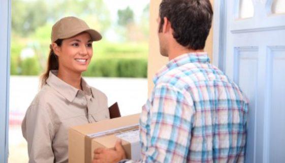 Paketdienst - Paket liefern
