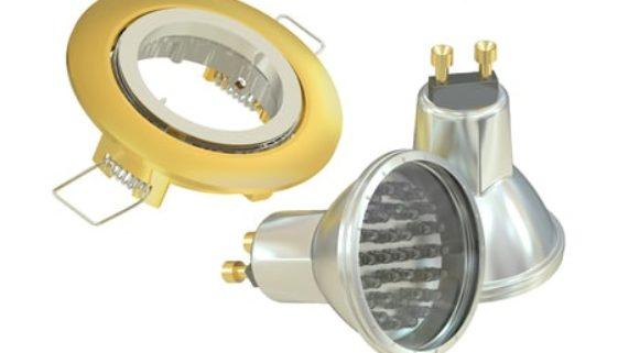 LED Einbaustrahler für das Bad