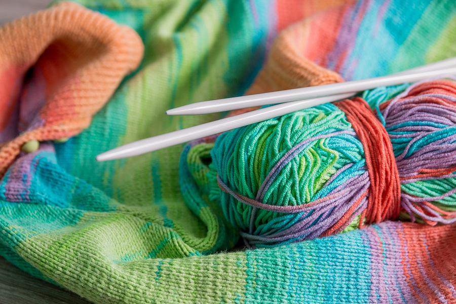 Wolle und Handarbeitswaren