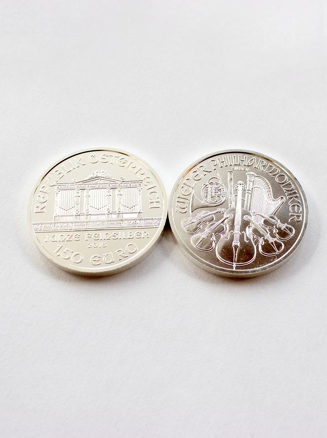 Österreichische Silbermünze
