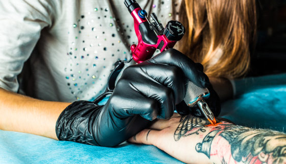 Tattoos stechen lassen