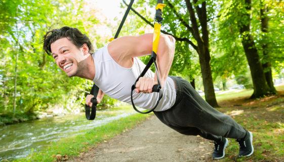 Fitnesstraining mit Slingtrainer
