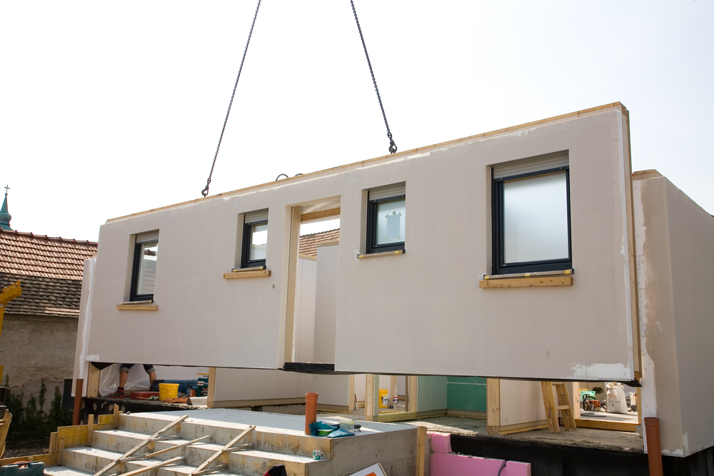 Modularer Hausbau